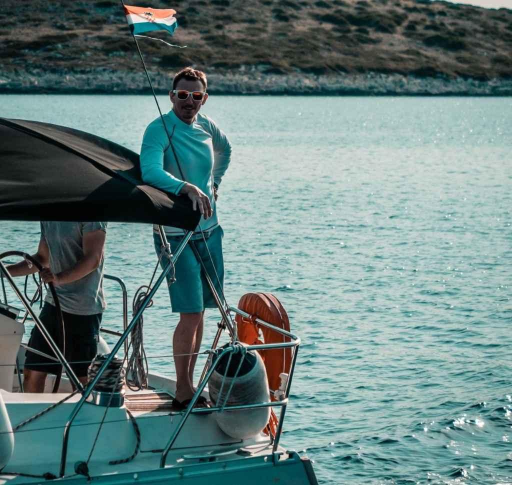 Josip Deranja, skiper instruktor